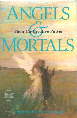 First image with 'Angels and Mortals,'