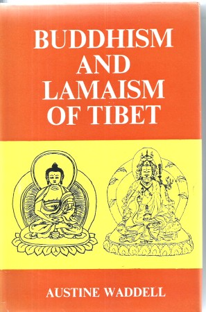 First image with 'Buddhism and Lamaism of Tibet'